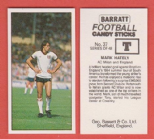 A.C Milan Mark Hateley England 37